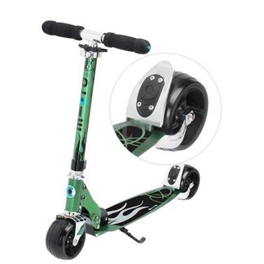 Micro Micro Scooter Rocket Yeşil